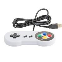 Controller Joypad PC SNES Stil USB Plug und Play Kontroller