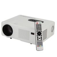 LCD Beamer Videoprojektor 3000 ANSI-Lumen 1080P 3.3KGS weiss