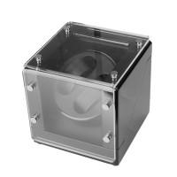 Uhrenbeweger Uhrendreher  Uhrenbox für zwei Automatikuhren Umdrehungen  5 Betriebsarten  Aussenmaterial:  Holz, schwarz