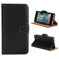 iPhone 5 5S SE Wallet Case mit Kartenfach Apple Cover schwarz