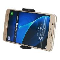Auto Handy Halterung für Samsung Handys, iphon 4,5,6, Galaxy  KFZ Lüftung Halter Auto Lüftungsschlitze Schwarz 55-85mm verstellbar
