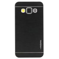 Harte Schutzhülle für Samsung Galaxy A3 Hülle Rück Schale Cover Case Schutz aus gebürstetem Aluminium