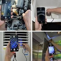 Usb Endoskop 8mm, 5 Meter Kabel Wasserdicht Boreskop Inspektion Kamera Mit 6 Leds, Usb - Adapter, für Android / Windows 2000 / XP / Vista / 7