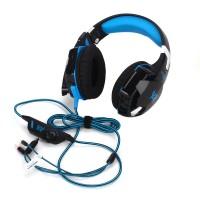Musik Gaming Headset  Multifunktionale USB Headset Computer Headset mit Mikrofon und LED-Licht für Smartphone, Tablet