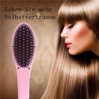 Elektrische LCD Haarbürste Haarglätter Automatic 29W rosa