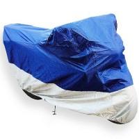 Motorrad Abdeckplane Abdeckung Motorradplane Cover Roller Regenschutz Motorradabdeckung mit Tasche, Wetterdicht Wasserdicht Staubdicht Sunblocker (245x105x125cm (LxBxH))
