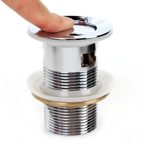 ablaufventil waschbecken 8cm push open f r waschtisch. Black Bedroom Furniture Sets. Home Design Ideas
