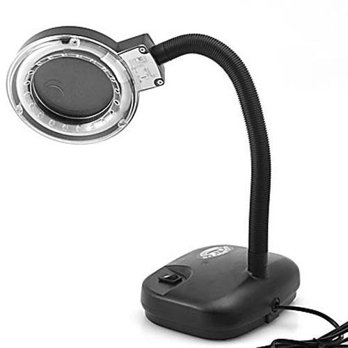 lupenlampe tischleuchte mit 5x lupe. Black Bedroom Furniture Sets. Home Design Ideas