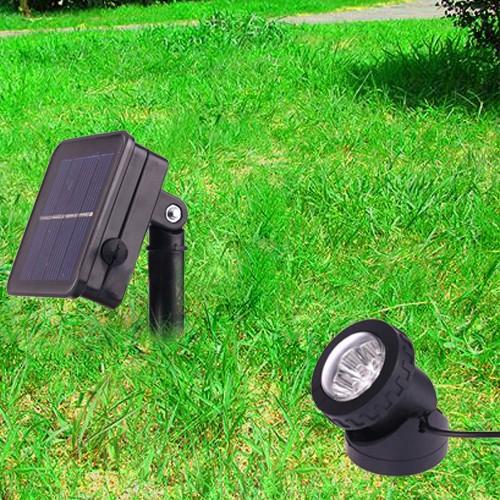 solar licht garten led fluter 6 led solarleuchte. Black Bedroom Furniture Sets. Home Design Ideas