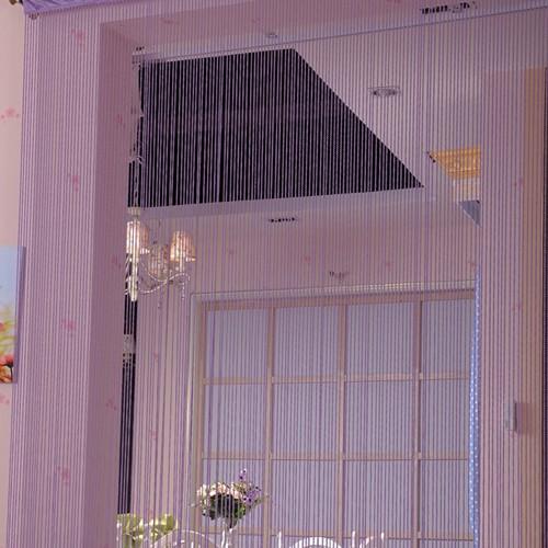 gardinen schweiz online vorhang fadengardine lila 245x90cm. Black Bedroom Furniture Sets. Home Design Ideas