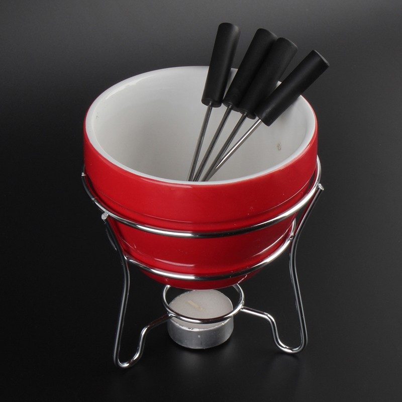fondue set kaufen schweiz 7tlg 500ml fonduetopf schokofondue. Black Bedroom Furniture Sets. Home Design Ideas