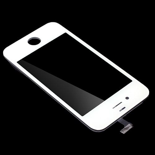 iphone 4 4s display glas ersatzglas weiss mit werkzeug set. Black Bedroom Furniture Sets. Home Design Ideas