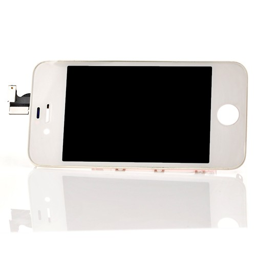 iphone 4s display touchscreen komplettset lcd weiss. Black Bedroom Furniture Sets. Home Design Ideas
