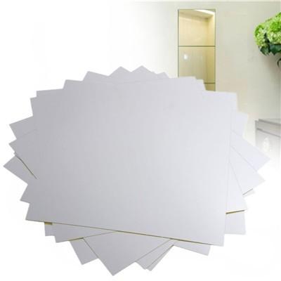 16x spiegelfolie quadrat sticker klebe kaufen schweiz. Black Bedroom Furniture Sets. Home Design Ideas