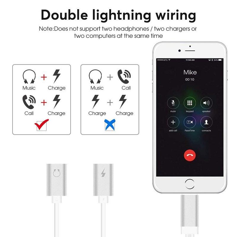 2 in 1 Lightning Adapter