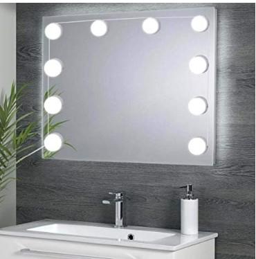 Bekannt Schminkspiegel Spiegellampe LED Make-up Lampe Licht Schminklicht ZN16
