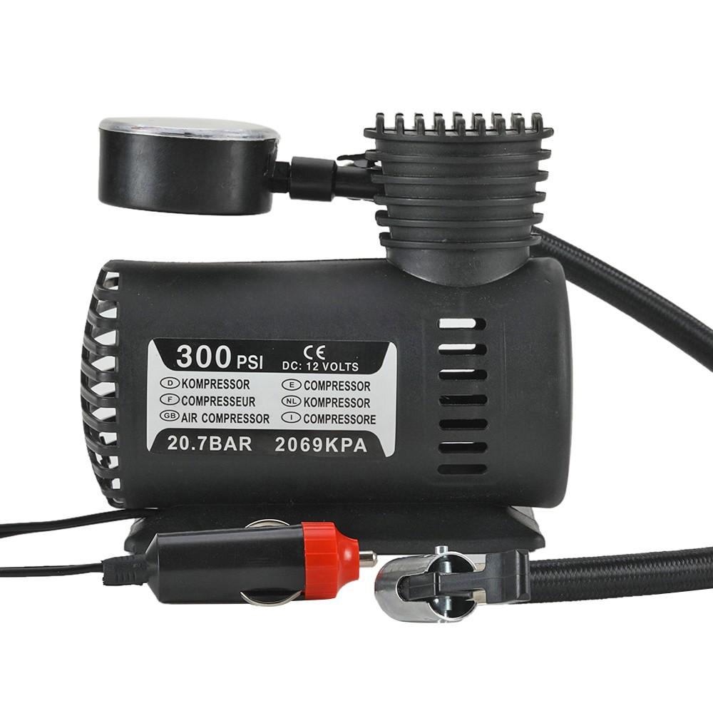 luftkompressor auto kfz mini kompressor 60w 12v kabel 3m. Black Bedroom Furniture Sets. Home Design Ideas