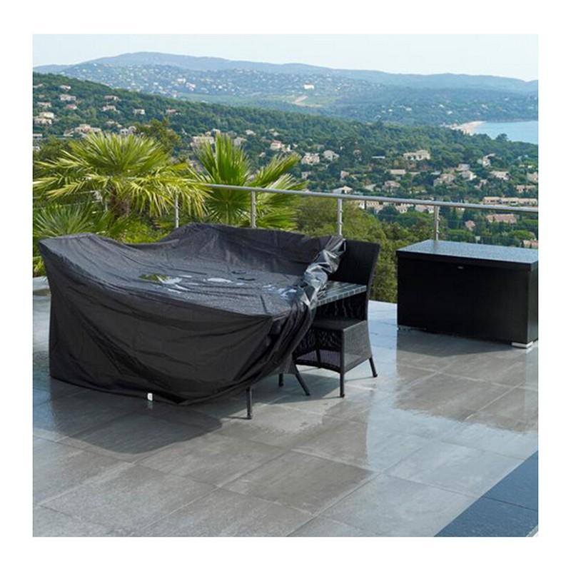 gartenm bel abdeckung schutzh lle abdeckplane 240 136 88cm. Black Bedroom Furniture Sets. Home Design Ideas