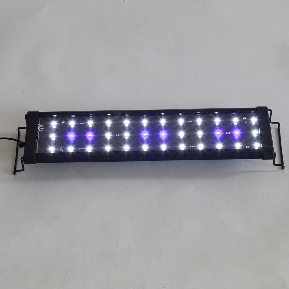 36 led aquarium beleuchtung fische leuchte teich 8w 42cm. Black Bedroom Furniture Sets. Home Design Ideas