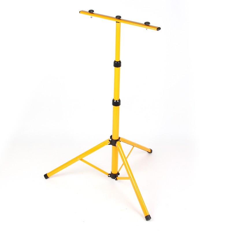 160cm led fluter stativ st nder ausklappbar f r 2 led fluter. Black Bedroom Furniture Sets. Home Design Ideas