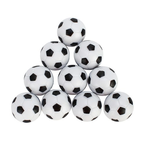 10tlg tischfussball tischkicker kickerfussball schwarz weiss 31mm kaufen schweiz. Black Bedroom Furniture Sets. Home Design Ideas