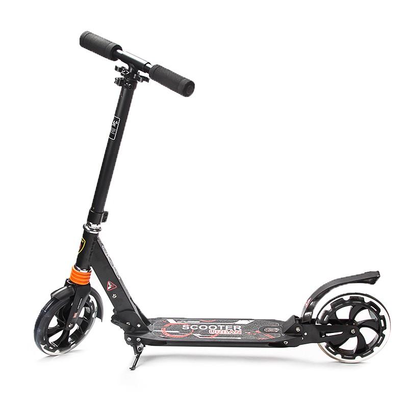 scooter roller tretroller klappbar f r erwachsene jungend. Black Bedroom Furniture Sets. Home Design Ideas