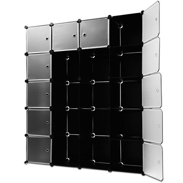 kleiderschrank g nstig schuhregal w scheschrank diy garderobenschrank steckregal. Black Bedroom Furniture Sets. Home Design Ideas
