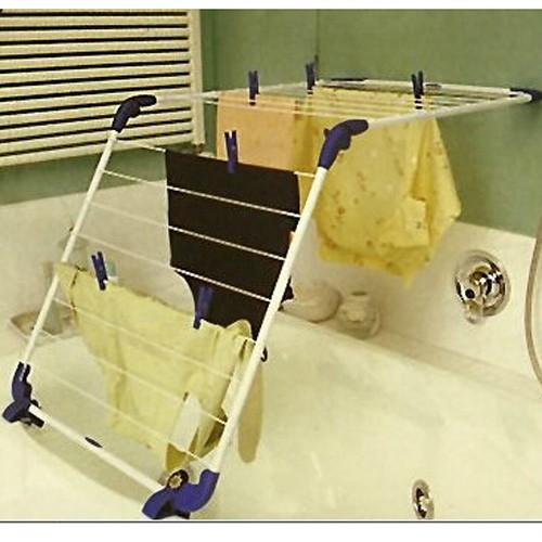 Wäscheständer Badewanne kleiderständer wäscheständer badewanne zusammenklappbar weiss