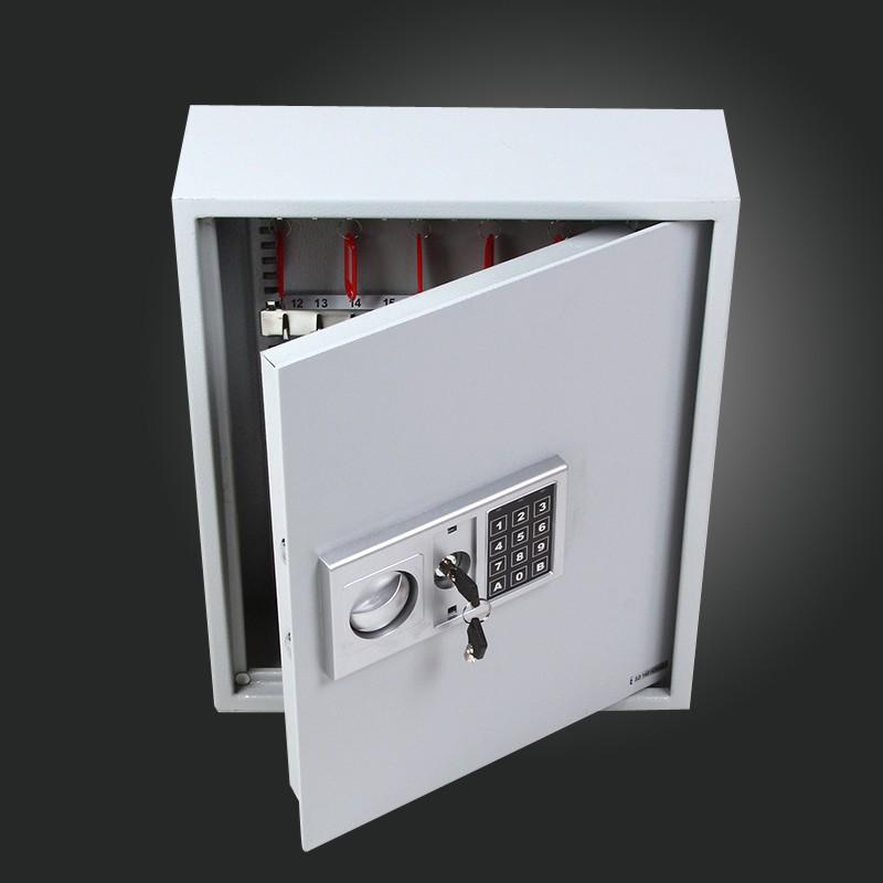 schl sselsafe mit code schl sselkasten stahl 45 36 12 cm. Black Bedroom Furniture Sets. Home Design Ideas