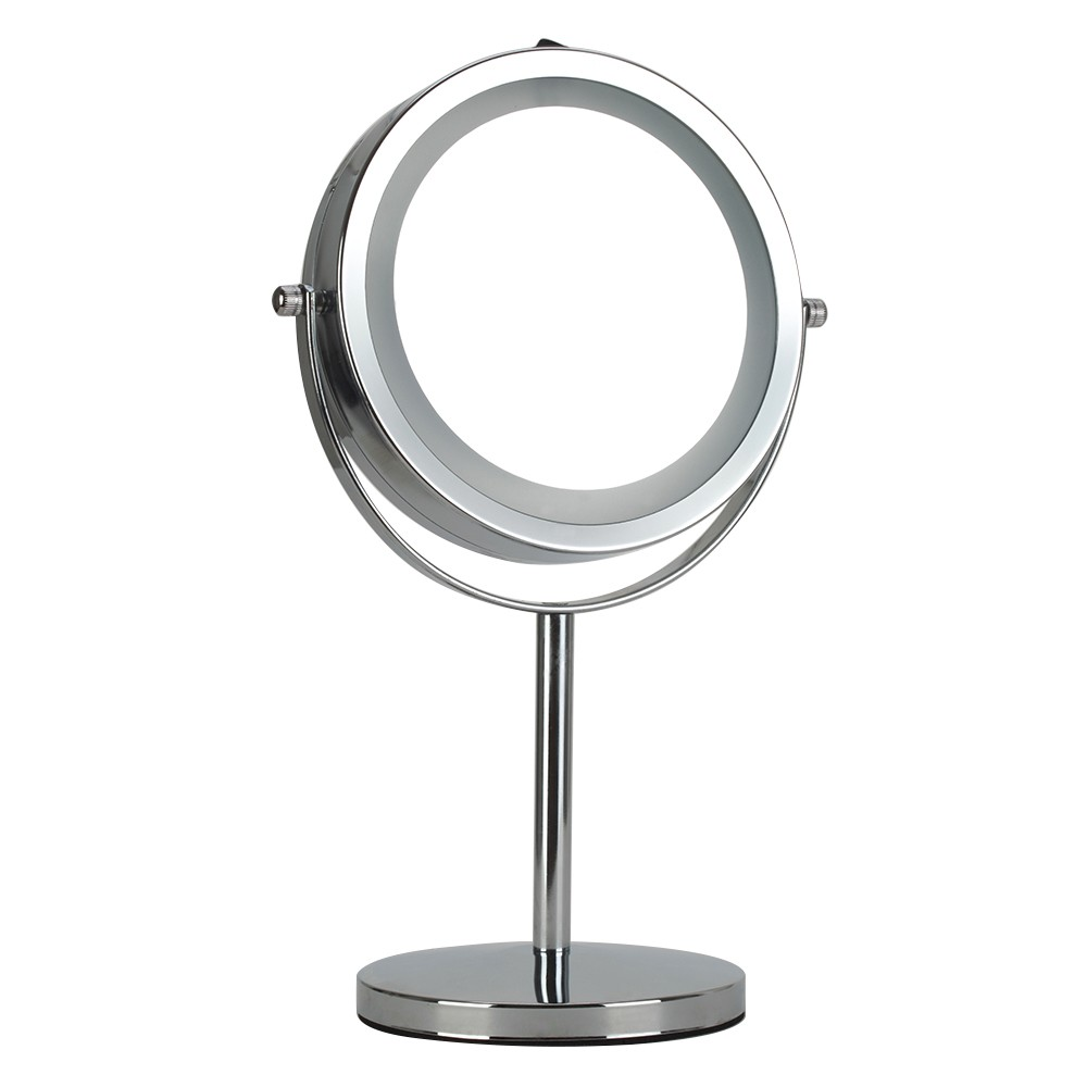 kosmetikspiegel mit 16led 5 fach 15cm kaufen standspiegel kosmetikspiegel badezimmerspiegel. Black Bedroom Furniture Sets. Home Design Ideas