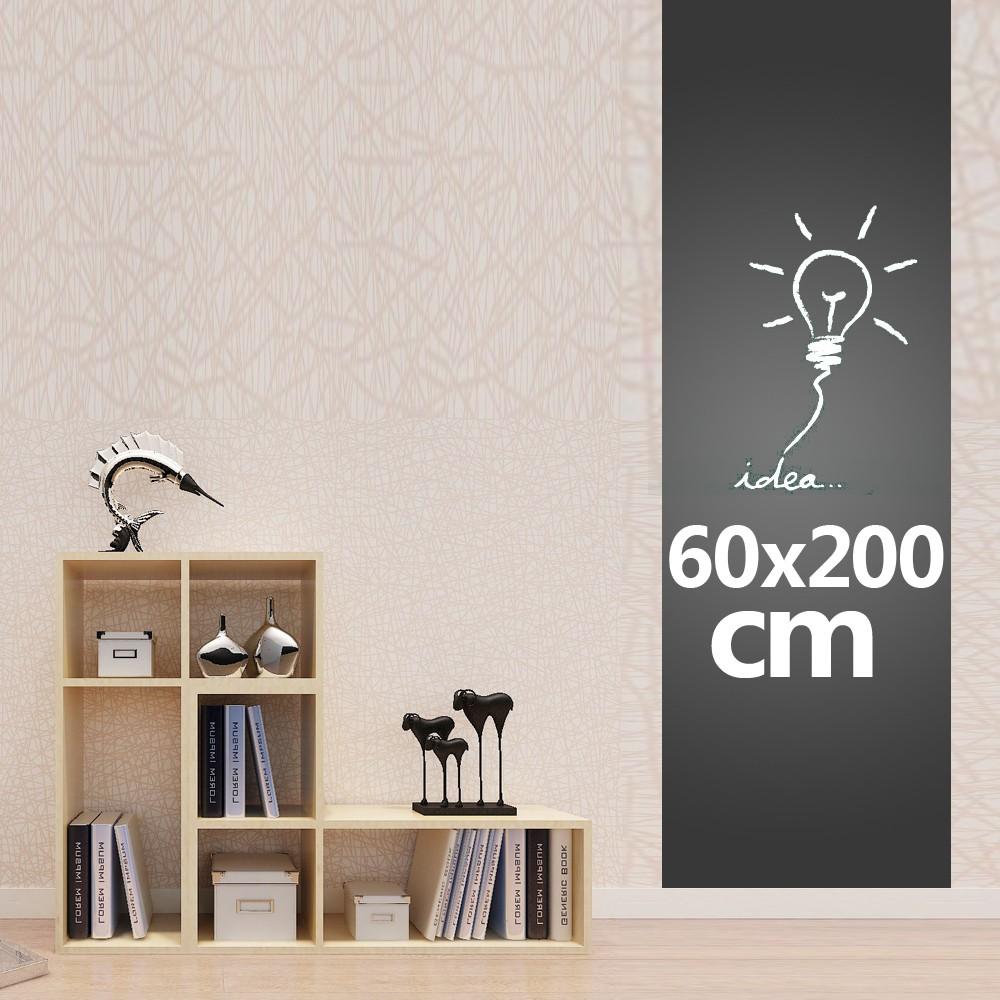 tafelfolie schweiz selbstklebende mit kreiden schwarz f w nde 60x200cm. Black Bedroom Furniture Sets. Home Design Ideas