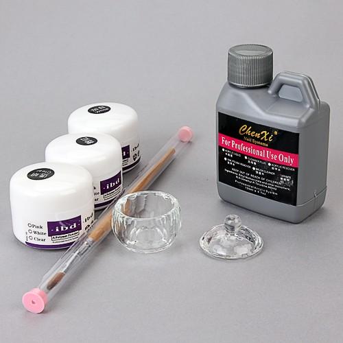 acryl starterset puder liquid nail art set. Black Bedroom Furniture Sets. Home Design Ideas