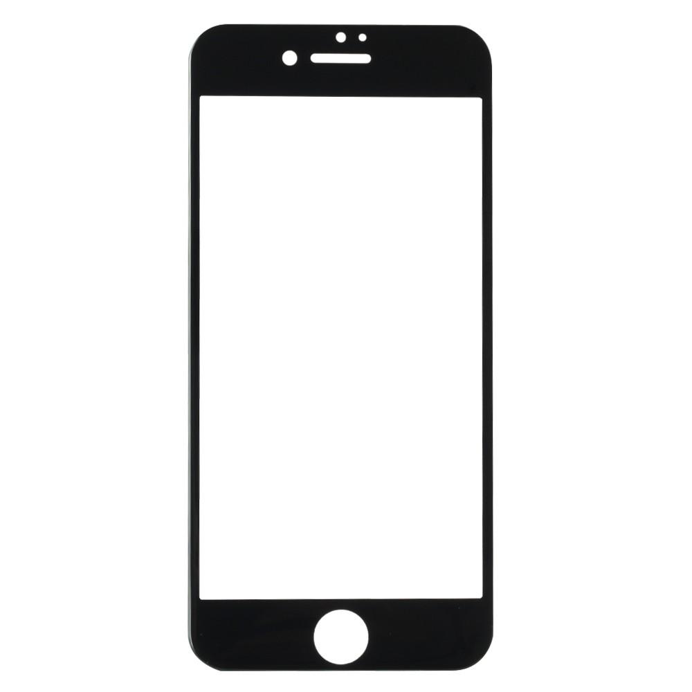 panzerglas schutzfolie f r iphone 7 displayschutzfolie schwarz. Black Bedroom Furniture Sets. Home Design Ideas