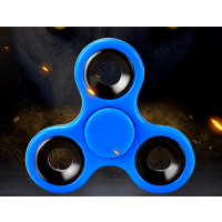 Fidget Spinner Finger Kreisel,blau Hand Spinner für Kinder