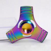 Fidget Rainbow Spinner - Spielzeug Tri Hand Spinner Stresslöser