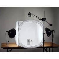 80x80x80cm Fotostudio Aufnahme Zelt Lichtwürfel Diffusions Box-Set