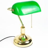 Bankerleuchte Schreibtischlampe Tischlampe Bankerleuchte grün