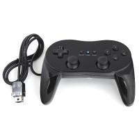 Controller Classic Kontroller Gamepad Joypad f. Nintendo Wii Schwarz