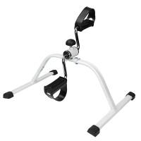Bein Pedaltrainer mini Bike Bewegungstrainer faltbarer Weiß