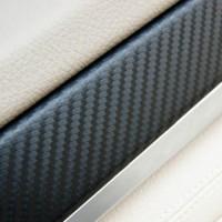 Autofolie 3D DIY Auto Flexibel Fiber 0.75x3m Carbon Folie Aufkleber