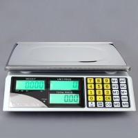 Zählwaage Digitalwaage  Ladenwaage (30 kg / 5 g) Tara, LCD Display