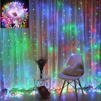 Lichterkette LED Batteriebetrieben Kupferdraht 100 LED 10m Weihnachten