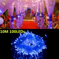 LED Lichterkette Beleuchtung Batteriebetrieben Weihnachten 100LEDs