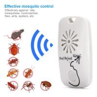 Mückenschutz Ultraschall Schädlingsbekämpfer tragbar weiß 2 Stück
