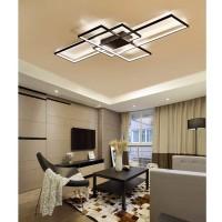Wohnzimmerlampe LED Deckenleuchte Deckenlampe Esszimmerlampe stufenlos