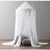 Betthimmel Bettzelte Moskitonetz Mückennetz Deko für Lesung Spielen
