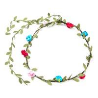 10pcs Blumen Stirnband Haarband Kopfband Krone Kranz für Hochzeit