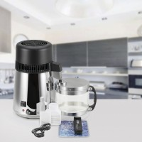 Wasserdestilliergerät Wasserdestille Wasser Distiller Edelstahl 750W