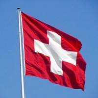 Schweiz Fahne 6.2 M Fahnenmast mit CH