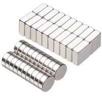Supermagnete Magnete Neodym für Kühlschrank Glas Magnettafeln 40er